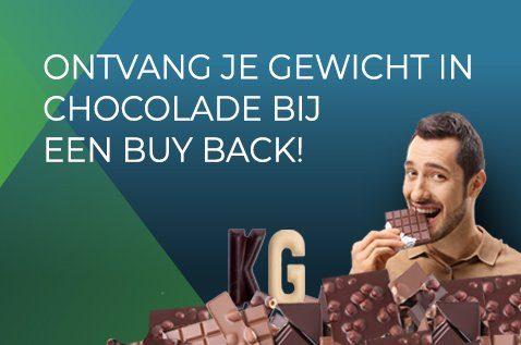 Je oude hardware is niet alleen geld, maar nu ook chocolade waard!